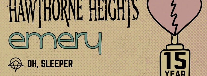 Hawthorne Heights & Emery at Paper Tiger