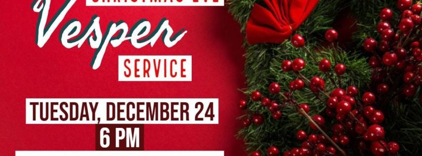 Christmas Eve Vesper Service