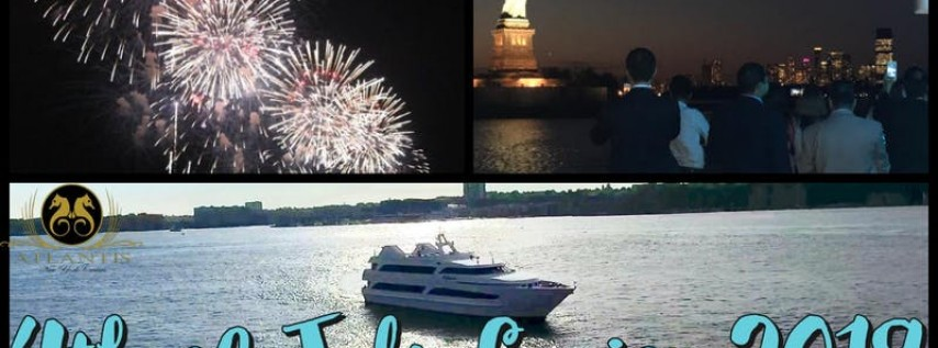 4th of July Fireworks Cruise Aboard Atlantis Yacht NYC