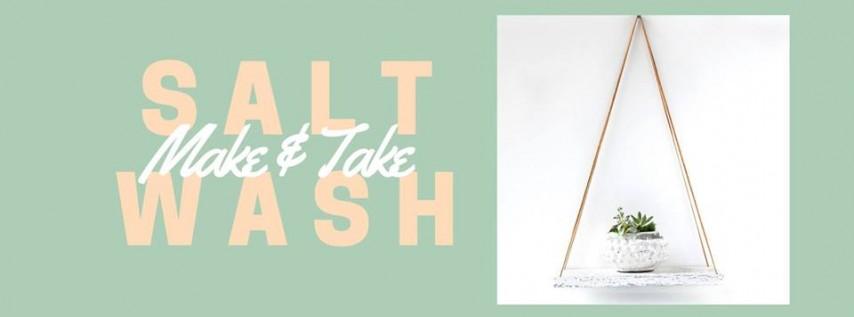 Saltwash Make & Take Boho Shelf with Tessa