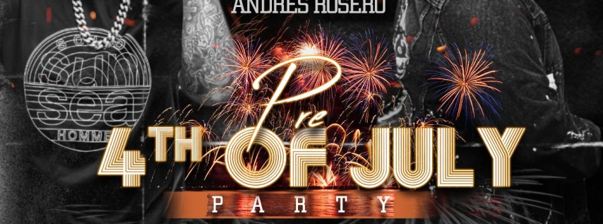 PRE-4TH OF JULY PARTY AT FUSION