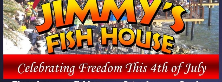 Jimmy's Fish House 4th of July Party!