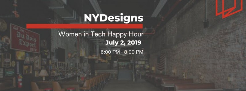 Pre-July 4th NYDesigns Women in Tech Happy Hour
