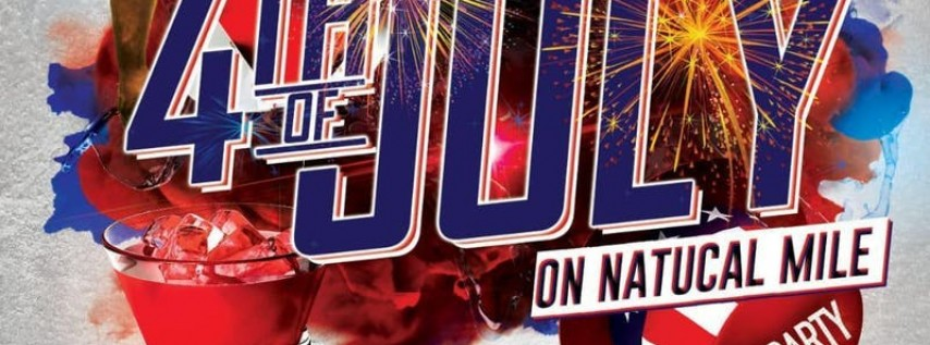 July 4th OutDoor Free Party at Boca Marina Long Island (Nautical Mile)