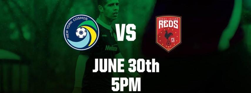 Cosmos vs. Rhode Island Reds