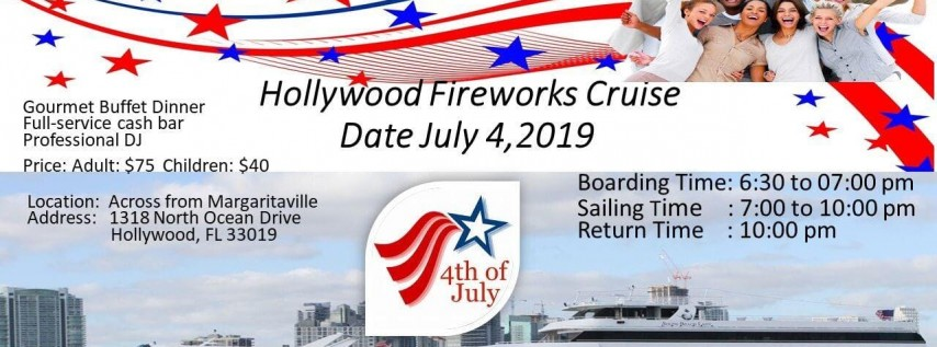 4th July Dinner Cruise