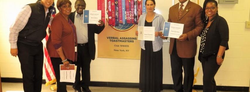Verbal Assassins - Toastmasters Meeting (August 4th Week)