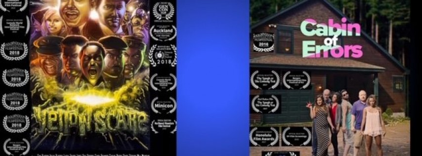 Yellow Scare and Cabin of Errors (Summer Cabin) at Bergen IFF