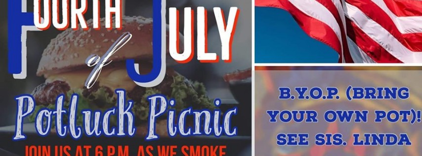 Fourth of July Potluck Picnic!