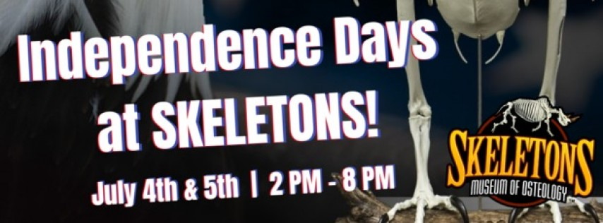 Independence Day at Skeletons!