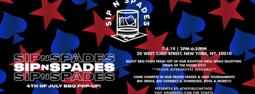 Sip N Spades BBQ Pop Up! 7.4.19