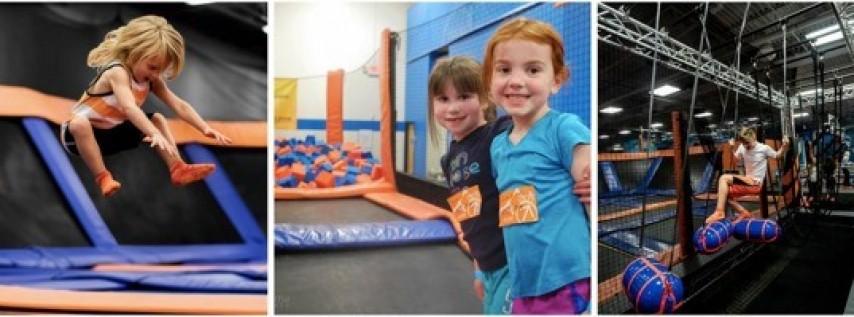 iFamilyKC Kids Club Event at SkyZone Lees Summit