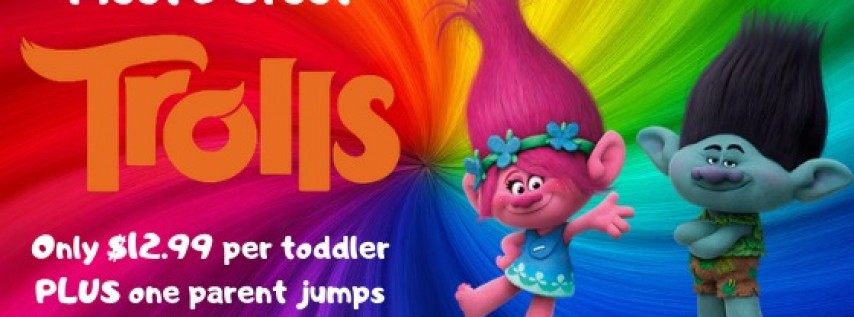 Trolls Meet & Greet Toddler Time
