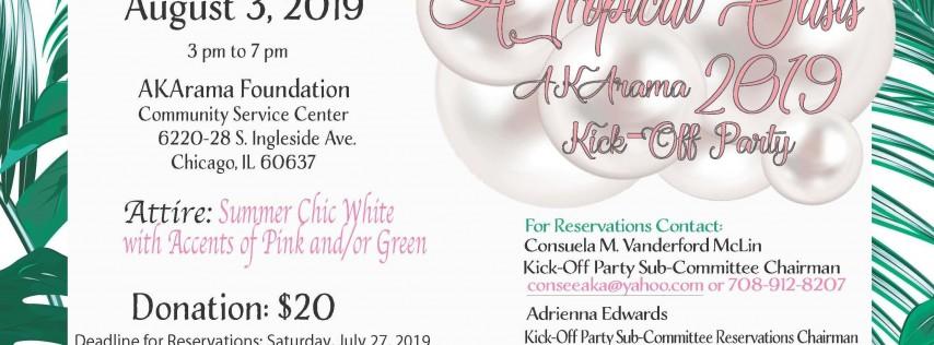 2019 AKArama Kick Off Party