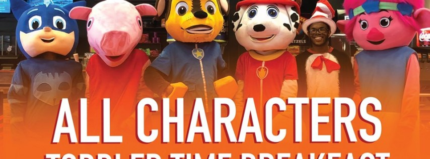 All Character Breakfast Toddler Time