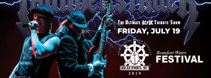 Thunderstruck: AC/DC Tribute at Beaufort Water Festival