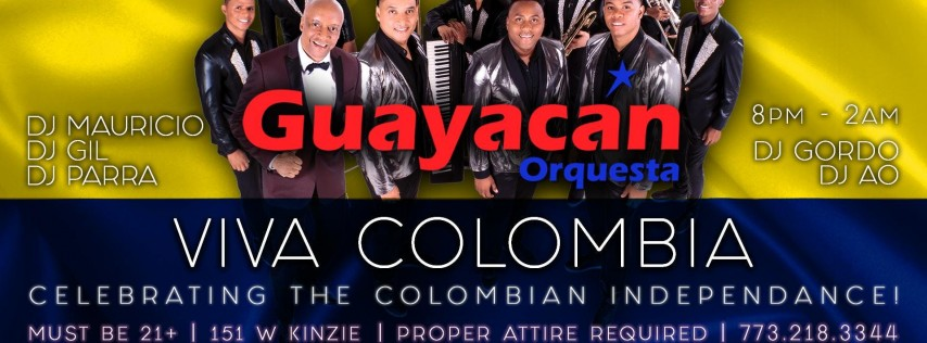 Orquesta Guayacan Live at Tunnel Chicago