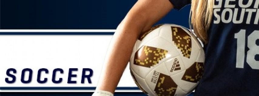 Women's Soccer vs Presbyterian