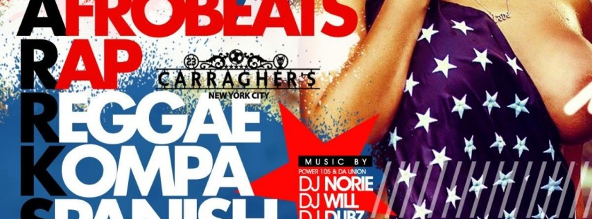 July 3rd @ Carraghers In NYC