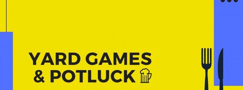 Yard Games & Potluck