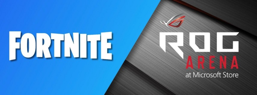 ROG Arena - Fortnite Fridays Solos