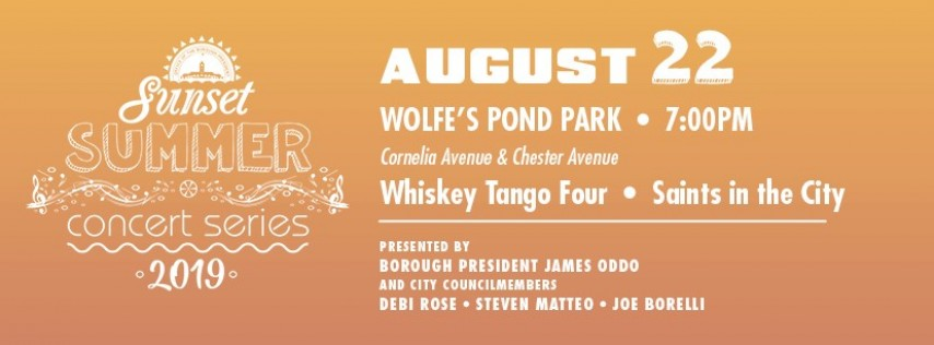 Summer Concert feat. Whiskey Tango Four & Saints in the City