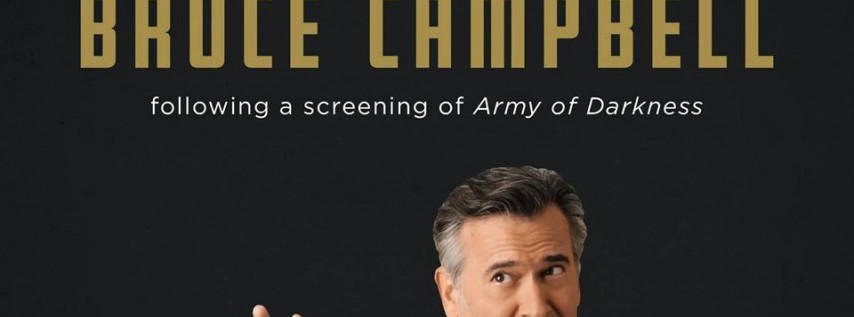 An Evening with Bruce Campbell at Paramount Theatre