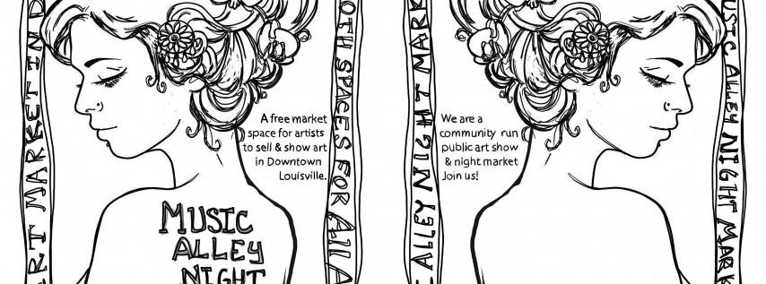 Music Alley Night Market - Art Market on South 4th Street