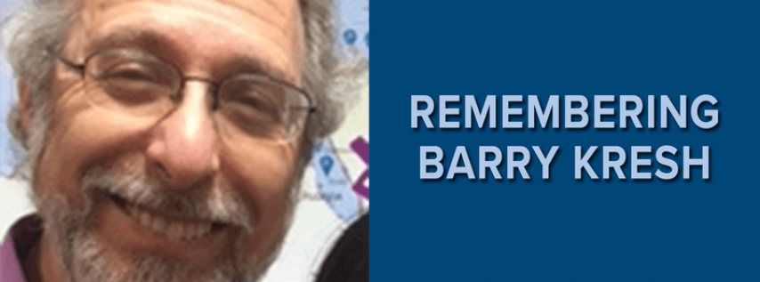 Remembering Barry Kresh