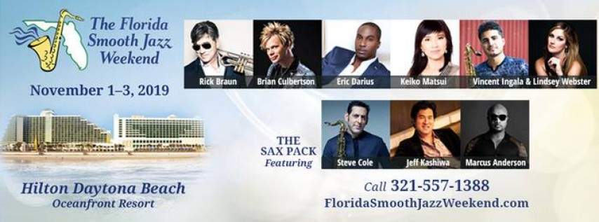 November 2019 Florida Smooth Jazz Weekend