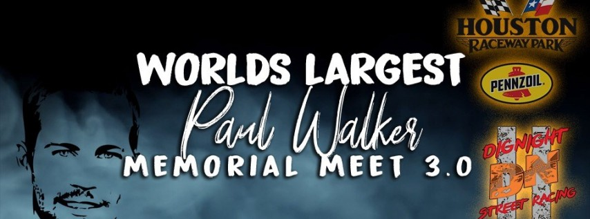 World's Largest Paul Walker Birthday Meet/Tribute/Celebration3.0