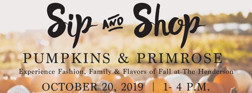 Sweet Sunday: Pumpkins & Primrose