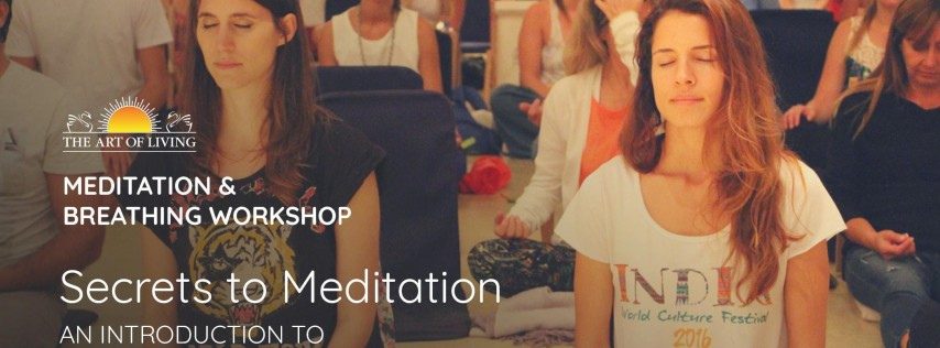 Breathe, Meditate and Be Happy - Free Session