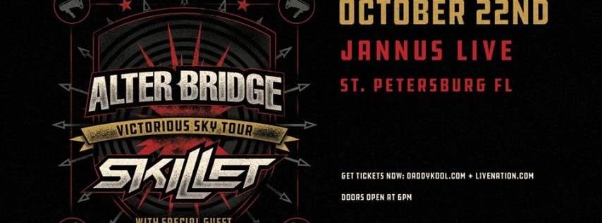 Alter Bridge & Skillet - Victorious Sky Tour