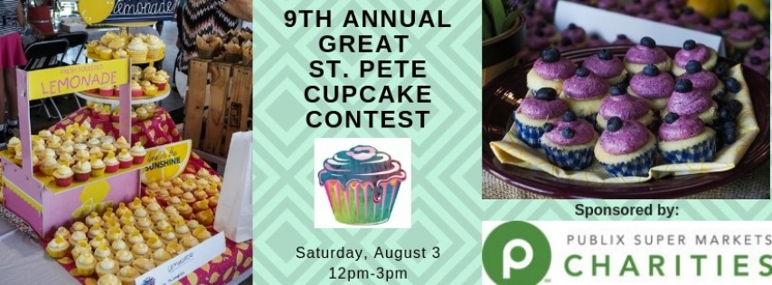 9th Annual Great St. Pete Cupcake Contest
