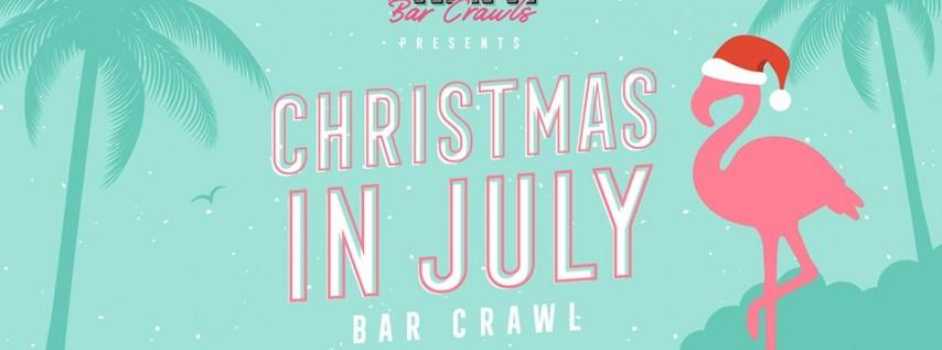 Christmas in July Bar Crawl in Miami