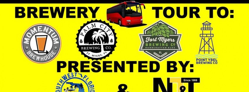 Brewery Bus Tour Presented by SWFL Ale Trail and NT&T