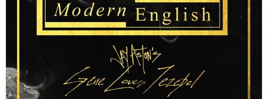 The Alarm / Modern English / Jay Aston's Gene Loves Jezebel