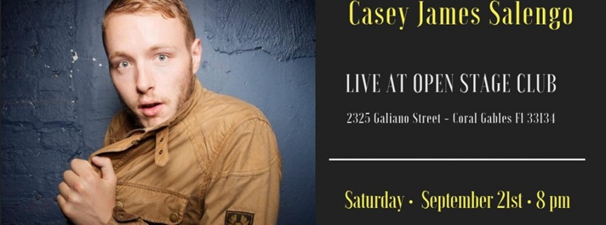 Have-Nots Comedy Presents Casey James Salengo
