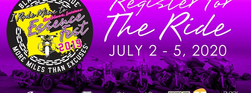 Black Girls Ride to Essence Fest 2020