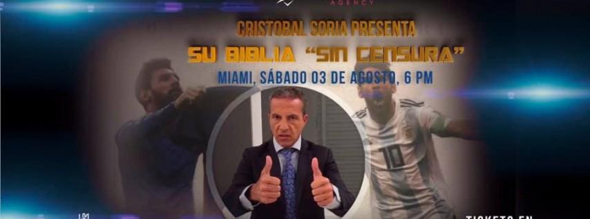 Cristobal Soria en Miami!