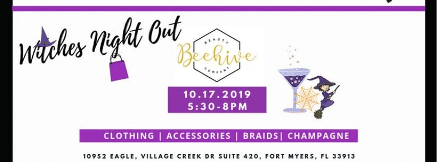 Sip.Shop.Socialize Witches Night Out at Beehive Beauty