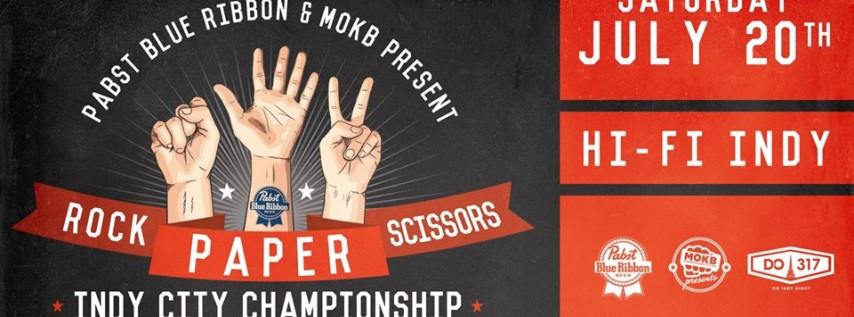 2019 Rock Paper Scissors Indy Championship at HI-FI