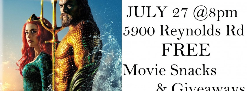 Morrow's Movies in the Park