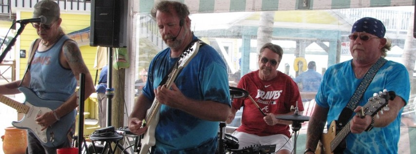 The Gummy Sharks at Lighthouse Grill at Stump Pass