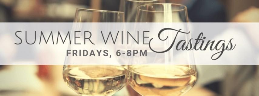 Summer Wine Tastings