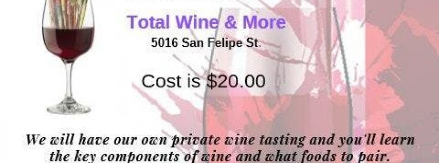 Wine Glass Painting and Tasting