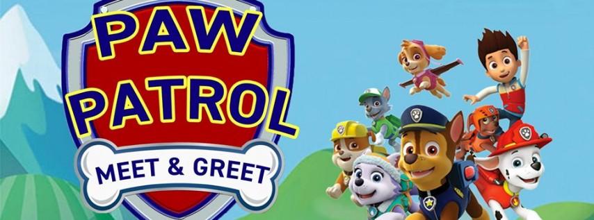 Paw Patrol Meet & Greet Toddler Time