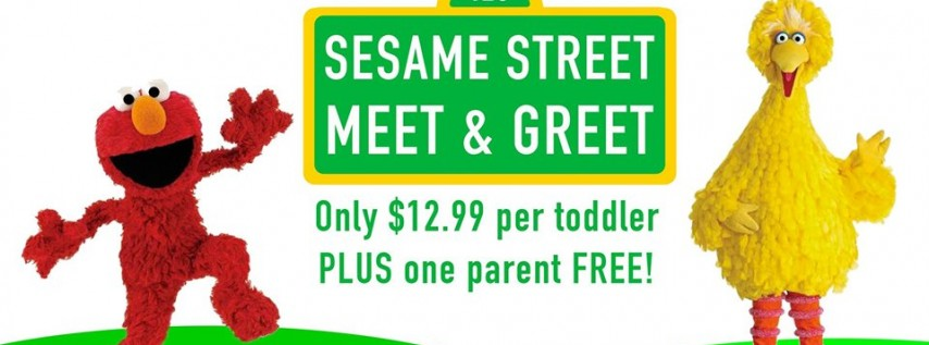 Sesame Street Meet & Greet Toddler Time