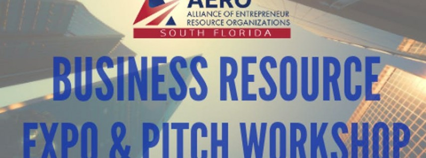 AERO Small Business Expo & Pitch Workshop